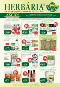 Herbária akciós újság 2019. 02.07-02.21