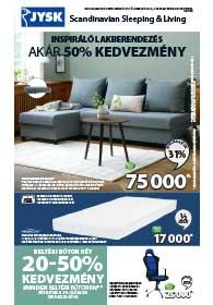 JYSK akciós újság 2019. 02.21-02.27