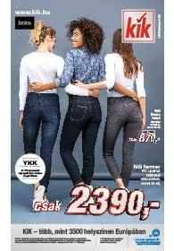 Kik textil akciós újság 2019. 02.06-tól