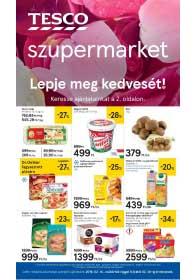 Tesco szupermarket akciós újság 2019. 02.14-02.20
