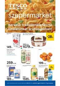 Tesco szupermarket akciós újság 2019. 02.21-02.27