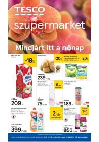 Tesco szupermarket akciós újság 2019. 02.28-03.06
