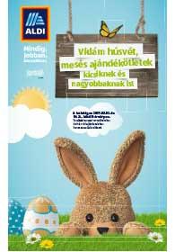 Aldi Húsvéti katalógus 2019. 03.10-04.14