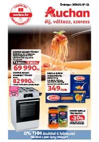 Auchan akciós újság 2019. 03.07-03.13