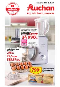 Auchan akciós újság 2019. 03.21-03.27