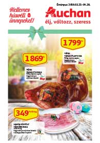 Auchan Húsvéti Sonka Katalógus 2019. 03.21-04.20
