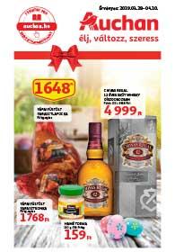 Auchan akciós újság 2019. 03.28-04.10