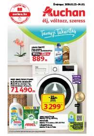 Auchan Tavaszi Takarítás akciós újság 2019. 03.21-04.03
