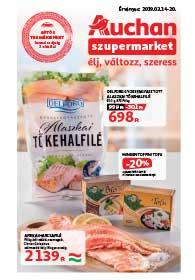Auchan Szupermarket akciós újság 2019. 03.14-03.20