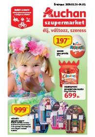 Auchan Szupermarket akciós újság 2019. 03.28-04.03