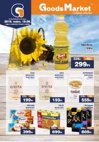Goods Market akciós újság 2019. 03.18-03.28