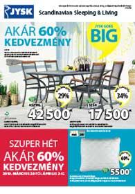 JYSK akciós újság 2019. 03.28-04.10