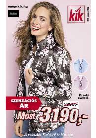 Kik textil akciós újság 2019. 03.13-tól