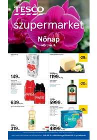 Tesco szupermarket akciós újság 2019. 03.07-03.13