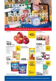 Tesco szupermarket akciós újság 2019. 03.14-03.20