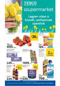 Tesco szupermarket akciós újság 2019. 03.21-03.27