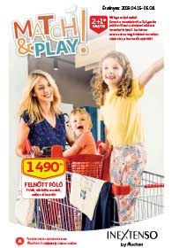 Auchan INEXTENSO katalógus 2019. 04.15-05.08