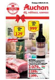 Auchan Szupermarket akciós újság 2019. 04.04-04.10