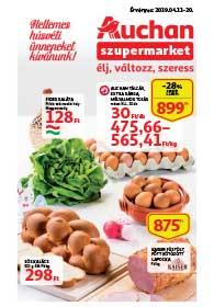 Auchan Szupermarket akciós újság 2019. 04.11-04.20