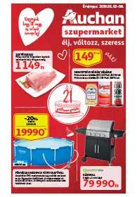 Auchan Szupermarket akciós újság 2019. 05.02-05.08