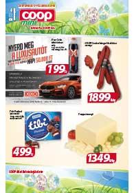 Alföld Coop Mini akciós újság 2019. 04.17-04.30