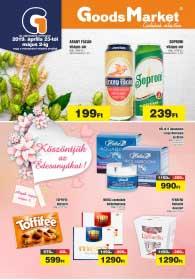 Goods Market akciós újság 2019. 04.23-05.02