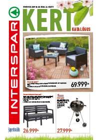 Interspar Kert akciós újság 2019. 04.03-04.24