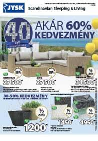 JYSK akciós újság 2019. 04.25-05.08