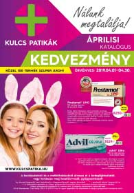 Kulcs patika akciós újság 2019. 04.01-04.30
