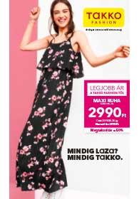 Takko akciós újság 2019. 04.18-04.24