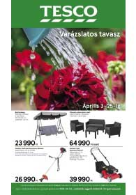 Tesco Tavasz akciós újság 2019. 04.03-04.25