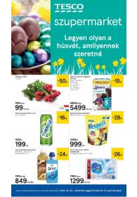 Tesco szupermarket akciós újság 2019. 04.04-04.10