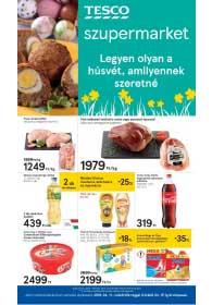 Tesco szupermarket akciós újság 2019. 04.11-04.15