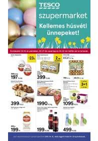 Tesco szupermarket akciós újság 2019. 04.16-04.20