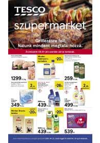 Tesco szupermarket akciós újság 2019. 04.23-04.30