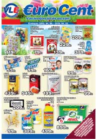 VL Euro Cent akciós újság 2019. 04.08-04.22