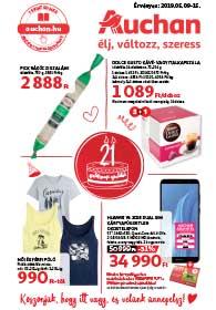 Auchan akciós újság 2019. 05.09-05.15