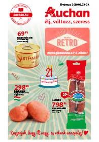 Auchan akciós újság 2019. 05.23-05.29