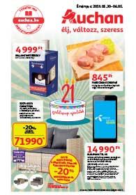 Auchan akciós újság 2019. 05.30-06.05