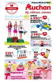 Auchan Gyereknapi katalógus 2019. 05.23-06.05