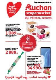 Auchan Szupermarket akciós újság 2019. 05.09-05.15