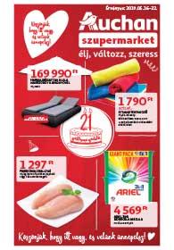 Auchan Szupermarket akciós újság 2019. 05.16-05.22