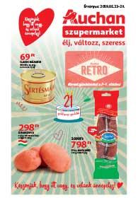 Auchan Szupermarket akciós újság 2019. 05.23-05.29