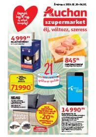 Auchan Szupermarket akciós újság 2019. 05.30-06.05