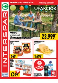 Interspar akciós újság 2019. 05.23-05.29