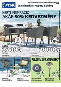 JYSK akciós újság 2019. 05.02-05.15