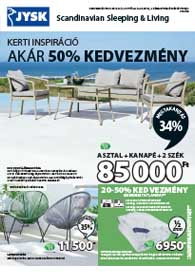 JYSK akciós újság 2019. 05.09-05.22