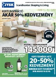 JYSK akciós újság 2019. 05.16-05.29
