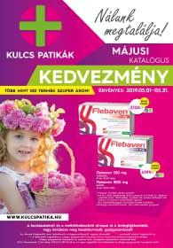 Kulcs patika akciós újság 2019. 05.01-05.31