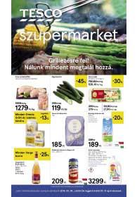 Tesco szupermarket akciós újság 2019. 05.09-05.15